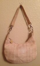 THE SAK Hobo Style Handbag  Basket Weave Purse