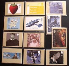 2003 COMPLETE YEAR SET OF MINT COMMEMERATIVE PHQ CARD SETS. CAT £64.50