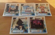 Lot de 7 stickers et mini stickers japonais one piece