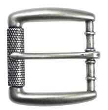 """Antique Silver Roller Belt Buckle for 1 1/2"""" Belts - The Belt Shoppe"""