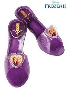 Frozen II Anna Child Jelly Shoes  Rubies