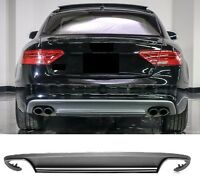 Für Audi A5 Coupe 8T S5 look Diffuser Diffusor stoßstange Wabengrill 12-16 #35