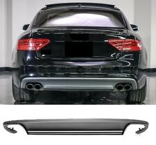 Für Audi A5 Coupe 8T S5 look Diffuser Diffusor stoßstange Wabengrill 12-16 #18