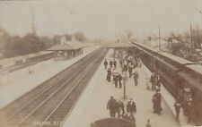 1905 used postcard ~ Brough railway station