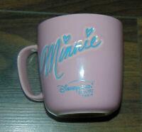 Disney Disneyland Paris Exclusive Coffee MUG Pott Tea Embossed Minnie Mouse
