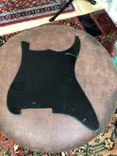 Stratocaster  Pickguard ,  black, schwarz  ohne Bohrungen blank