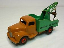DINKY TOYS 930 COMMER RECOVERY TRUCK - BROWN GREEN 1:43? - VERY GOOD