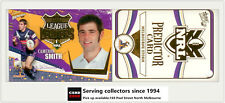 2006 Select NRL Invincible League Leaders CC6 Cam Smith + Storm Predictor