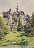 Signiert Holzhausen datiert 1898 - Schloss Seckendorff ?