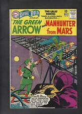 Brave and Bold 50 VG/FN 5.0 Green Arrow Manhunter 1st Team-Up Hi-Res Scans