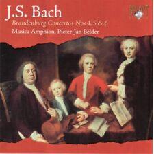 J.S. Bach - Brandenburg Concertos Nos 4,5 & 6 - CD -