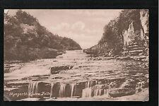 L@@K  Aysgarth Lower Falls 1900's Postcard Yorkshire