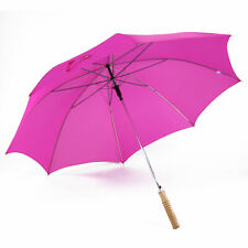 Mit Farbe und Schnäppchenpreis gegen trübes Wetter.: Regenschirm pink