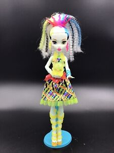 Monster High Electrified High Voltage Frankie Stein LIGHTS UP AND MAKES NOISE