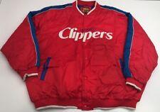 Giii Big Man San Diego Clippers Jacket Button Up Los Angeles Size 4XL Heavy Coat