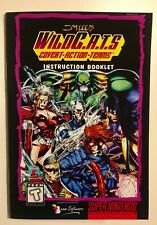 Jim Lee's Wildcats WildC.A.T.s - SNES - Reproduction Instruction Manual, Booklet