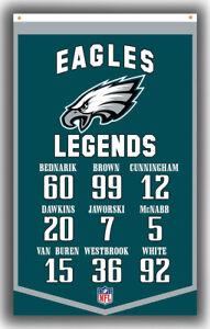 Philadelphia Eagles Football LEGENDS Banner 90x150cm 3x5ft Best Banner