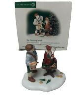 Dept 56 Alpine Village Series #56306 The Finishing Touch Painting Santa