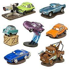 Disney Cars 2 Deluxe 7 Figurine Play Set Mater Finn Birthday gift