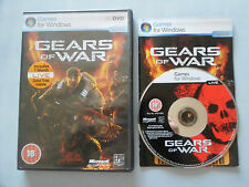 Gears of War PC. PC game. Includes manual
