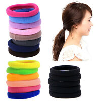 Fashion Women Girls 50Pcs Elastic Rope Ring Hairband Hair Band Ponytail Holder