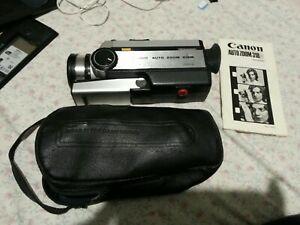 Canon Autozoom 318M movie camera 8mm Retro Vintage with instruction manual