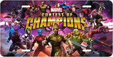 Marvel Contest Of Champions Novelty Vanity License Plate, U.S.A. Made With Pride