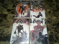 The Coffin 1 2 3 4 1-4 VF/NM to VF+ 9.0 to 8.5 Complete Set Oni 2000