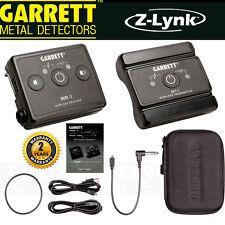 """GARRETT METAL DETECTORS Z-LYNK 1/4"""" JACK z link Wireless Headphone System NEW"""