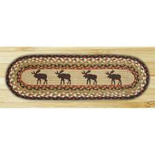 Earth Rugs 49-ST019M Moose Oval Stair Tread