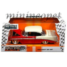 JADA 98940 BIGTIME MUSCLE 1956 56 CHEVROLET BEL AIR 1/24 DIECAST MODEL CAR RED