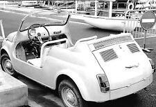 FIAT 500 JOLLY GHIA MONACO GRAND PRIX 1966 fotografia spiaggine foto due