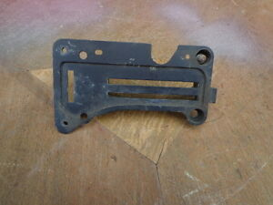 1966 Ford Falcon Heater Control Face Backing Plate Gasser C6DA-18597E