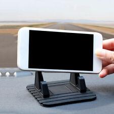 Coche Dashboard Mat Antideslizante Soporte de montaje de Goma Almohadilla Teléfono Móvil Soporte Accesorio