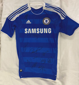SIGNED Chelsea FC Football Shirt 2012/13 with COA *GENUINE*
