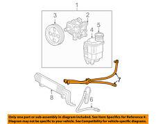 Dodge CHRYSLER OEM 05-08 Ram 1500-Power Steering Return Hose 55366796AC