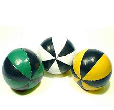 3er-Set Acrobat Jonglierbälle, Farbe: Schwarz-Weiss, Schwarz-Gelb, Schwarz-Grün