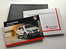 Opel MOKKA LIBRO DE MANTENIMIENTO MANUAL & Funda Pack - 2013 to 2016 New