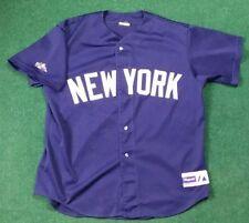 Vintage Majestic New York Yankees Mesh Baseball Jersey Men's Sz Large