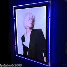"Double Sided A2 LED Light Panel Pocket Luxury Window Display Portrait  21""x28"""