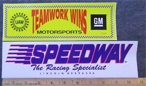RACE TRACK STICKERS