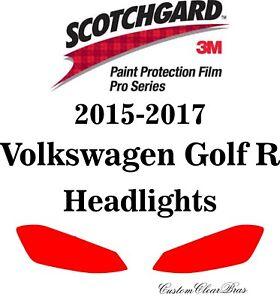 3M Scotchgard Paint Protection Film Pro Series 2015 2016 2017 Volkswagen Golf R