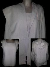 BONNE FEMME Paris Womens 3 Piece Pants Suit Top Blazer Jacket Sz 30 USA 10 Brown