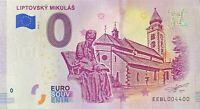 BILLET 0  EURO LIPTOVSKY MIKULAS  SLOVAQUIE 2019   NUMERO 4400