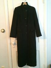 Peruvian Connection COAT Full Length BABY ALPACA wool WOMENS Size 6 lagenlook