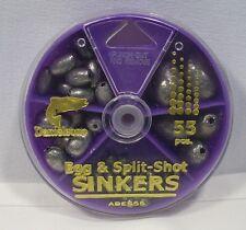Danielson Egg & Split Shot Sinkers Fishing Weights Assortment Selector