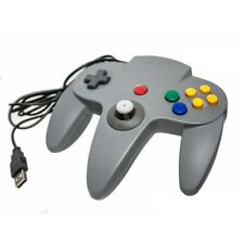 Retro Classic Style N64 USB Nintendo Controller Pad PC Laptop Mac Windows Grey