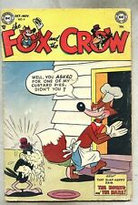 Fox And The Crow #6-1952 vg/gd  Hound And The Hare