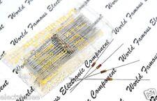10pcs -Allen Bradley (AB) 22K 0.125W (1/8W) 5% Carbon Composition Resistor