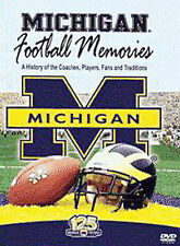 MICHIGAN FOOTBALL MEMORIES DVD History of Coaches Players Fans & Traditions Nice